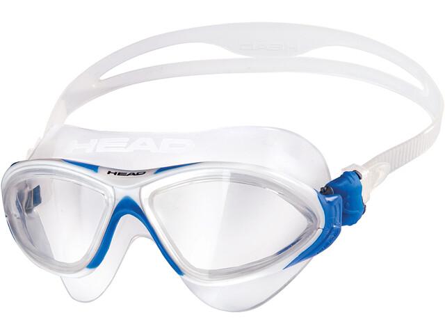 Head Horizon Mask clear/white/blue/clear